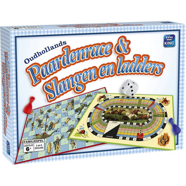 King International Oudhollands Paardenrace & Slangen en Ladders