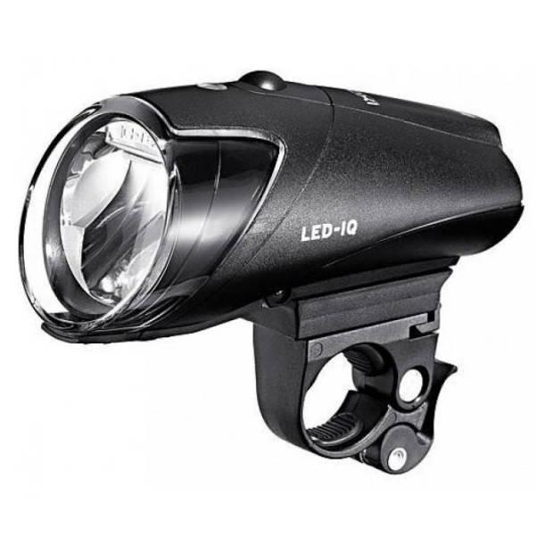 Busch + Müller koplamp Ixon IQ led oplaadbaar zwart