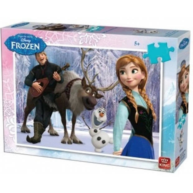 King legpuzzel Disney Frozen junior 99 stukjes
