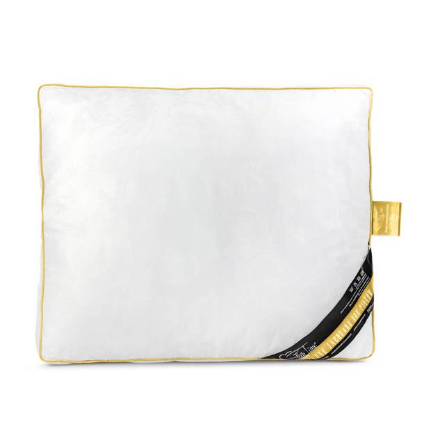 Sleeptime jacquard pillow gold - 50 x 60 x 8 - goudkleurig