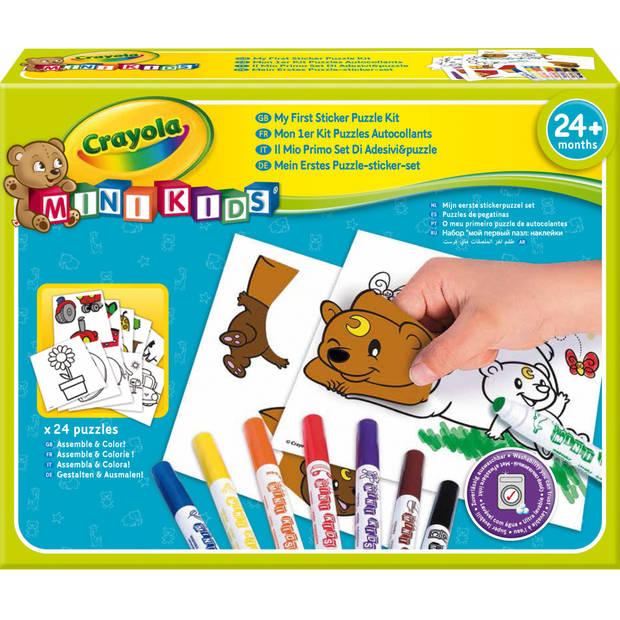 Crayola Mini Kids: stickerpuzzel set