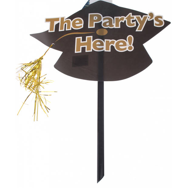 TOM feestbord the party is here 48 x 38 cm