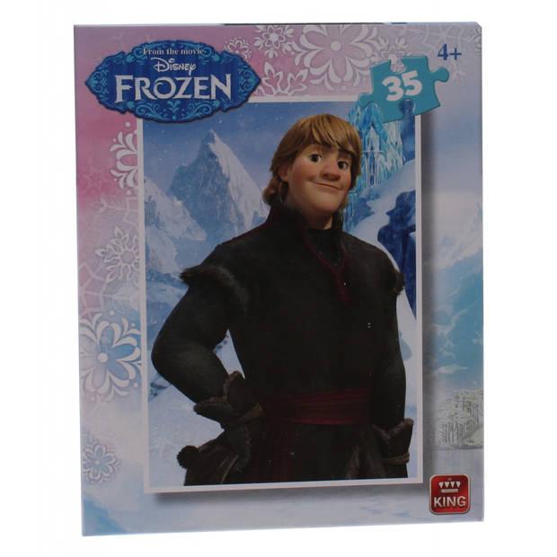 King International mini legpuzzel Frozen - Kristoff 35 stukjes