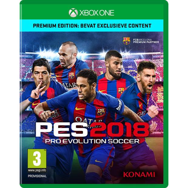 Xbox One PES 2018 Premium Edition