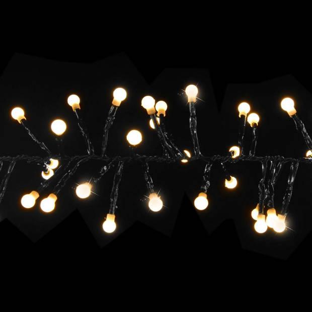 Luca Lighting kerstboomverlichting cluster warm wit 384 led - 230cm