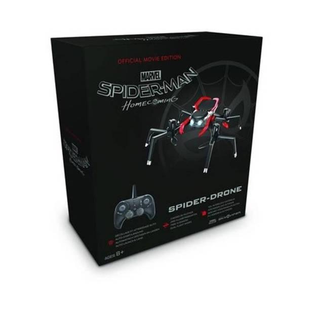 Marvel Skyviper Spider drone - 19 x 19 x 6,3 cm - zwart/rood