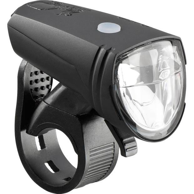AXA koplamp EL13B Greenline 15 batterij led 7 cm zwart