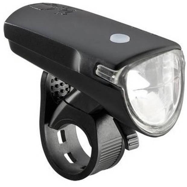 AXA koplamp EL12B Greenline 35 batterij led 7 cm zwart