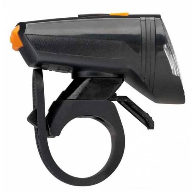 AXA verlichtingsset Greenline 15 lux oplaadbaar zwart