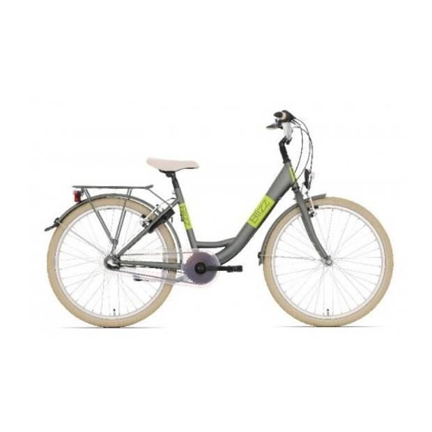 Bike Fun Blizz 26 Inch 43 cm Meisjes 3V V-Brake Mat Groen