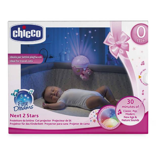 Chicco Next2stars projectielamp - roze