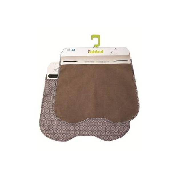 Qibbel stylingset voor Qibbel windscherm Elements bruin