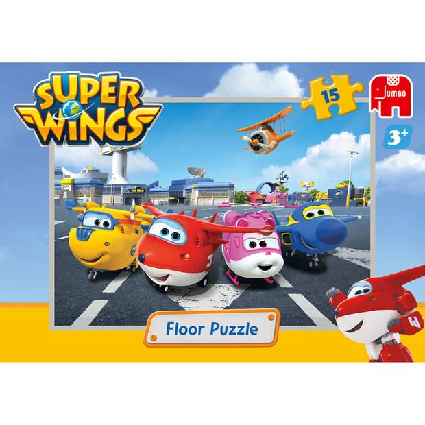 Jumbo Super Wings vloerpuzzel - 15 stukjes