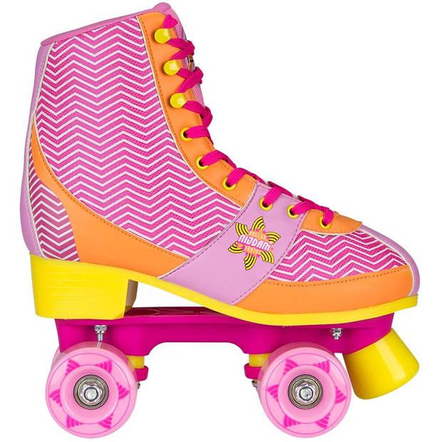 Nijdam rolschaatsen Chevron dames roze mt 35/36
