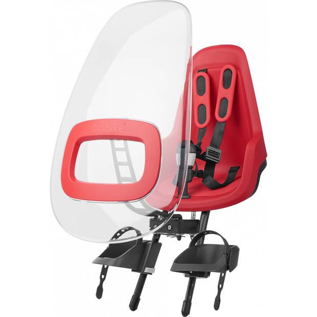Bobike windscherm One+ Strawberry rood
