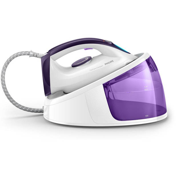 Philips stoomgenerator FastCare Compact GC6704/30 - paars/wit
