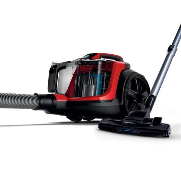 Philips zakloze stofzuiger PowerPro Expert FC9729/09 - rood/zwart