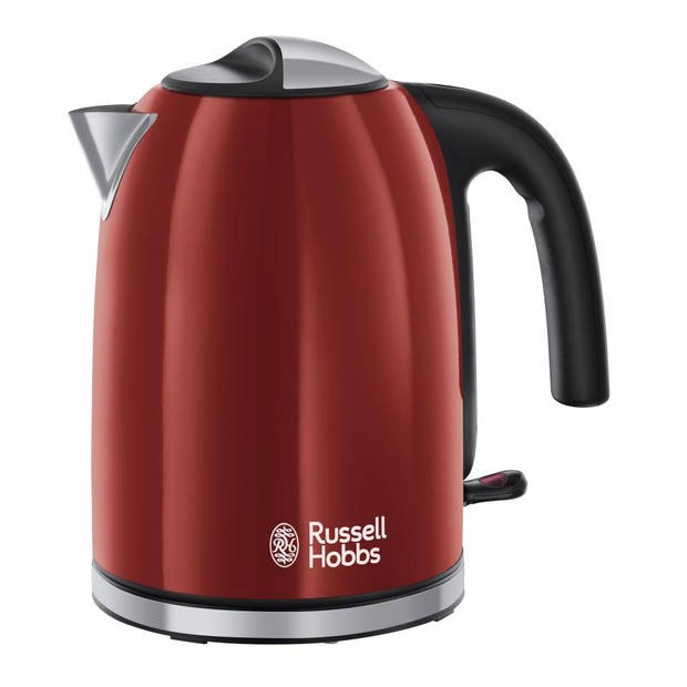Russell Hobbs Colours Plus waterkoker 20412-70 - rood - 1,7 liter