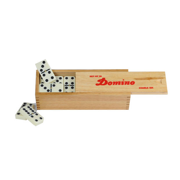 Domino dubbel 6 - 28 stenen