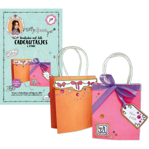 Cadeautasjes DIY Jill - Knutselset Textiel Jill