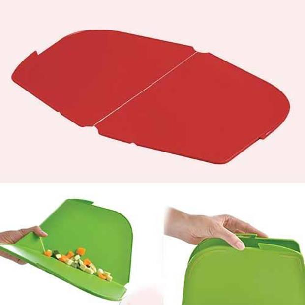 Opvouwbare snijplank, rood - Mastrad