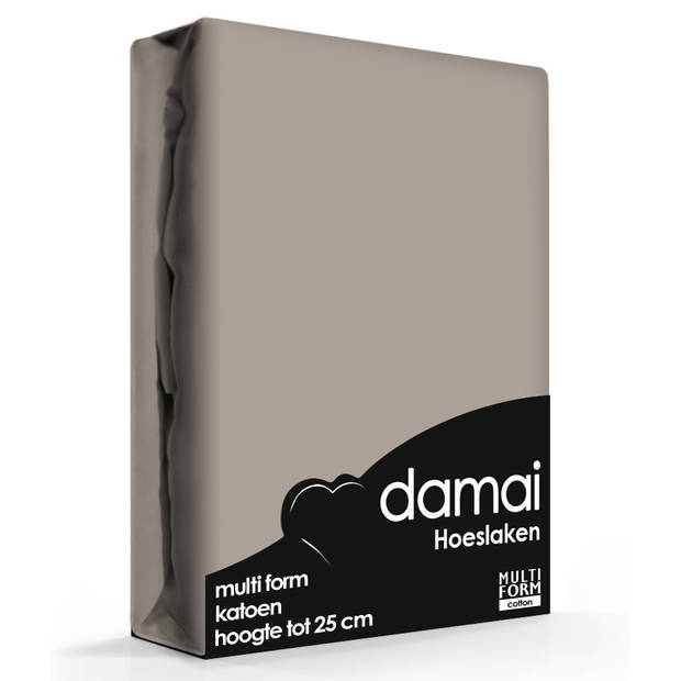 Hoeslaken Multiform Damai Funghi (Katoen)-80/90 x 200/210 cm