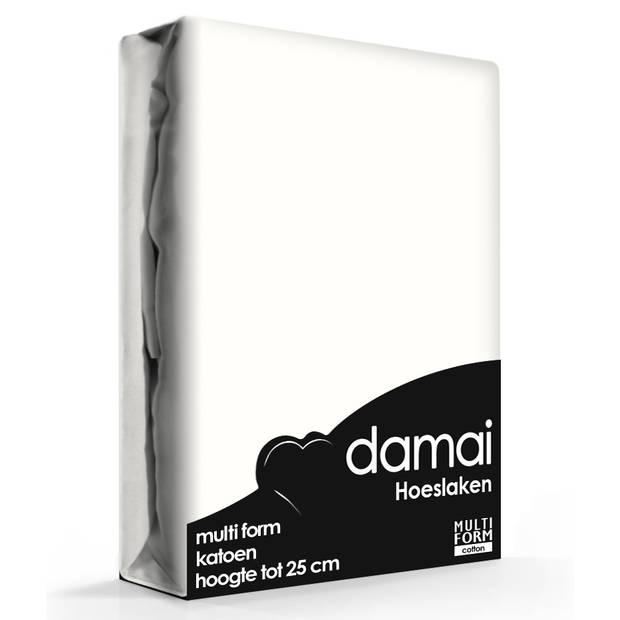 Hoeslaken Multiform Damai Ivoor (Katoen)-80/90 x 200/210 cm