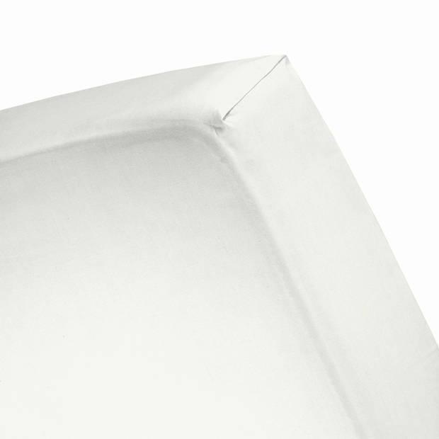 Cinderella jersey splithoeslaken ivory-180 x 200/210 cm