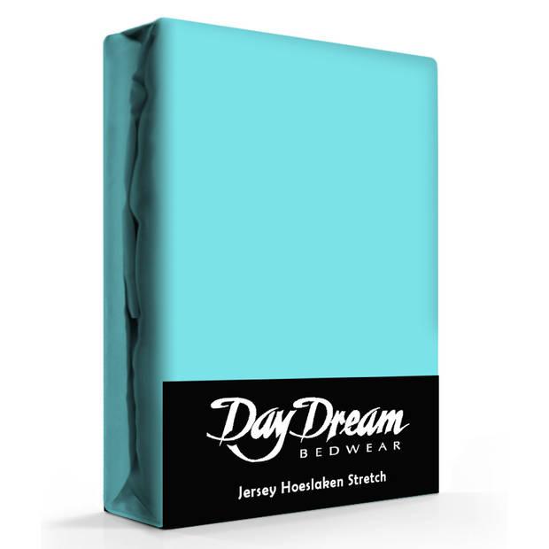 Day Dream Jersey Hoeslaken Aqua-190 x 220 cm