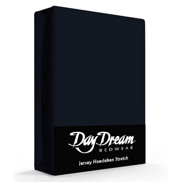 Day Dream Jersey Hoeslaken navy-190 x 220 cm