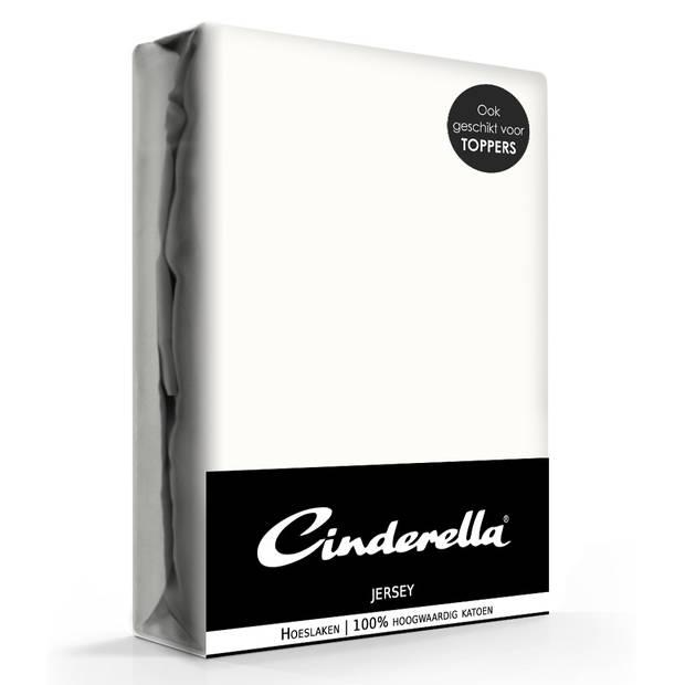 Cinderella Jersey Hoeslaken Ivory-180 x 210/220 cm