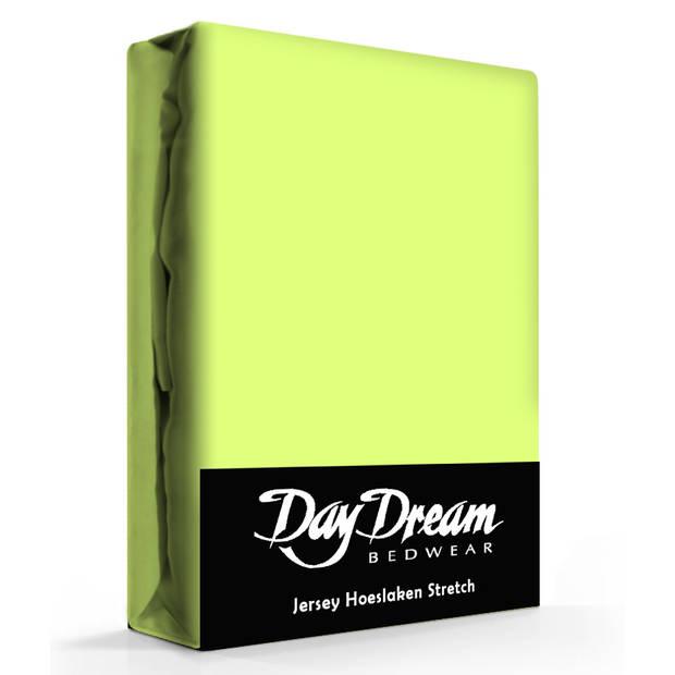Day Dream Jersey Hoeslaken Lime-180 x 200 cm