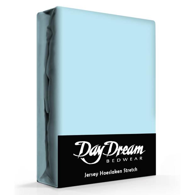 Day Dream Jersey Hoeslaken Ice-Blue-180 x 200 cm