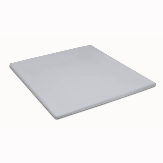 Damai Multiform Double Jersey Topper Hoeslaken Licht Grijs-90 x 200/210 cm
