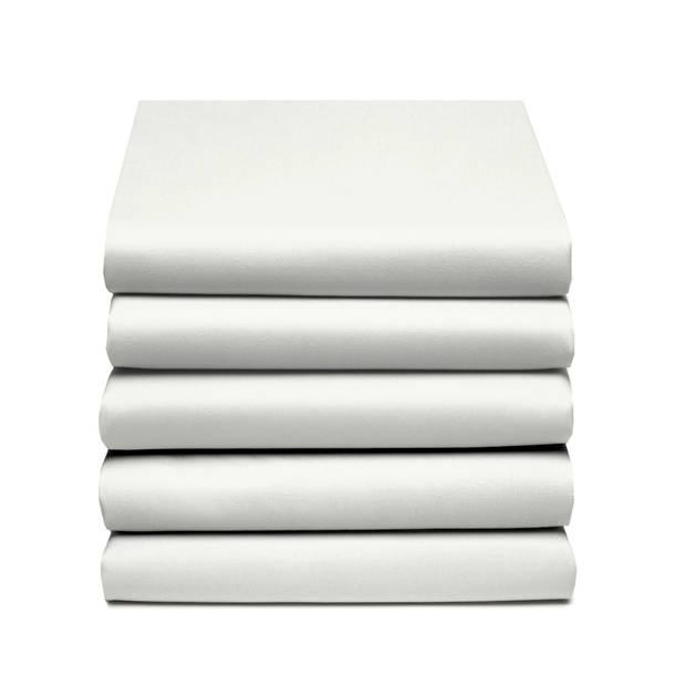 Damai Multiform Double Jersey Topper Hoeslaken Ivoor-80/90 x 200/210 cm