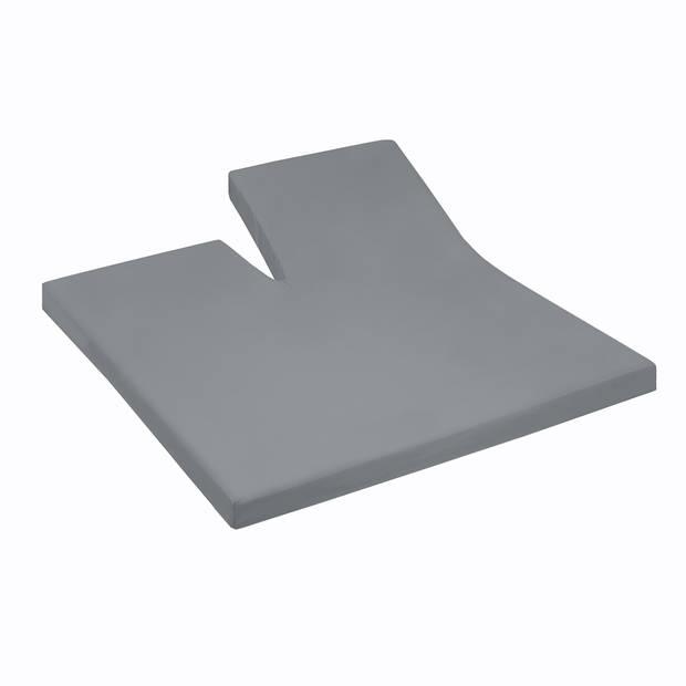 Damai Multiform Double Jersey Splittopper Grey-180 x 200/210 cm