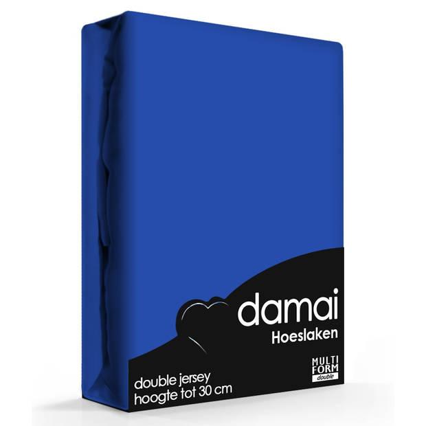 Damai Multiform Double Jersey Hoeslaken Ultramarine-80/90 x 210/220 cm