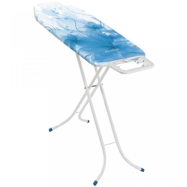Leifheit Classic M strijkplank - blauw - 128 x 38 cm