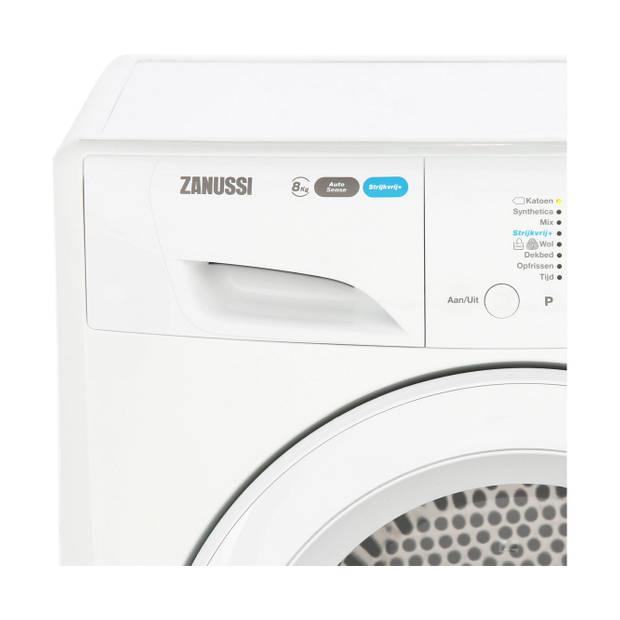 Zanussi ZDH8353W warmtepompdrogers - Wit