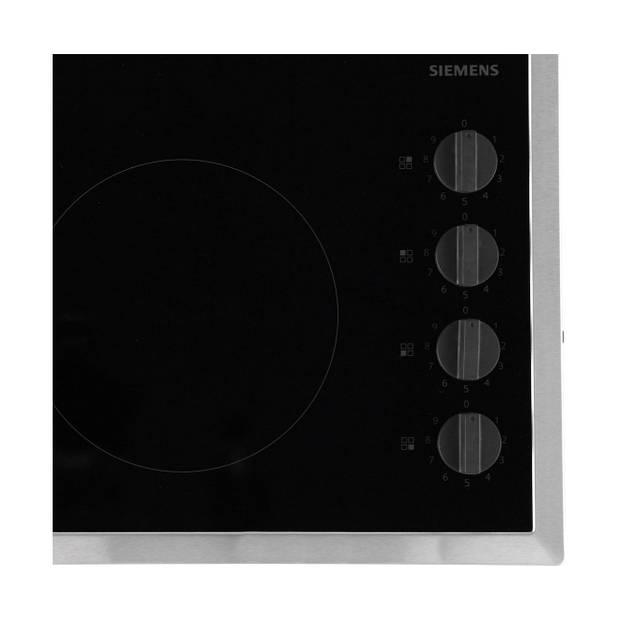 Siemens iQ100 ET645CEA1E elektrische kookplaten - Zwart