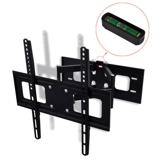 """vidaXL TV-beugel met dubbele draaiarm voor aan muur 400x400 mm 32""""-55"""""""