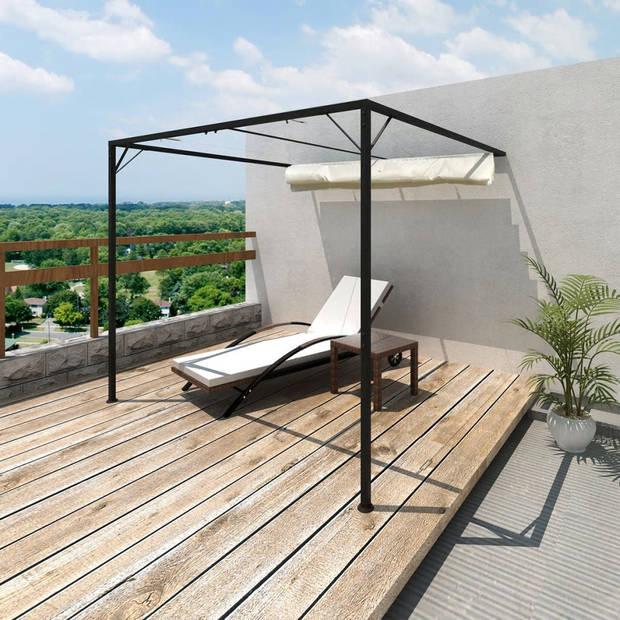 vidaXL Muurluifel Spineda met uitschuifbaar dak 3x3 m