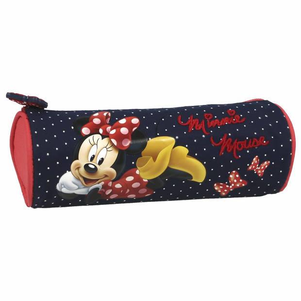 Disney Minnie Mouse - Etui - 21 cm - Blauw