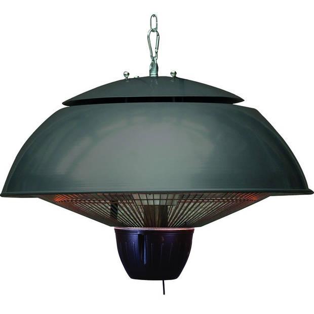 Bordeaux hangende heater 43CM royal grey / 1500W