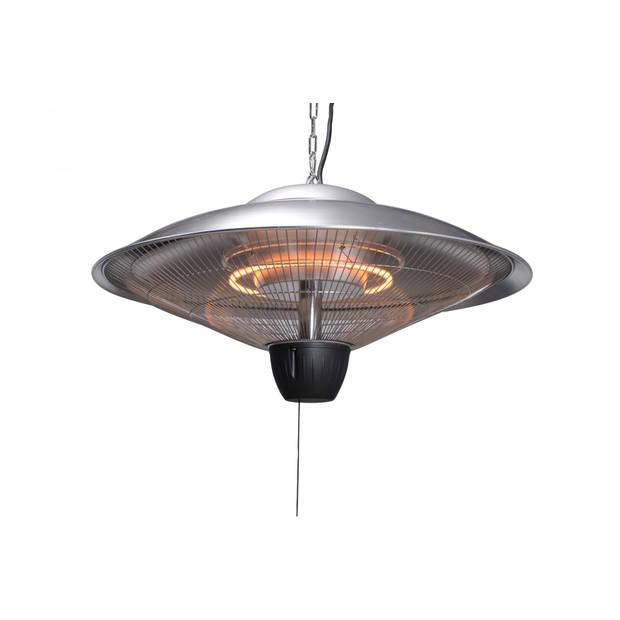 Bordeaux hangende heater 60CM carbon grey / 2000W