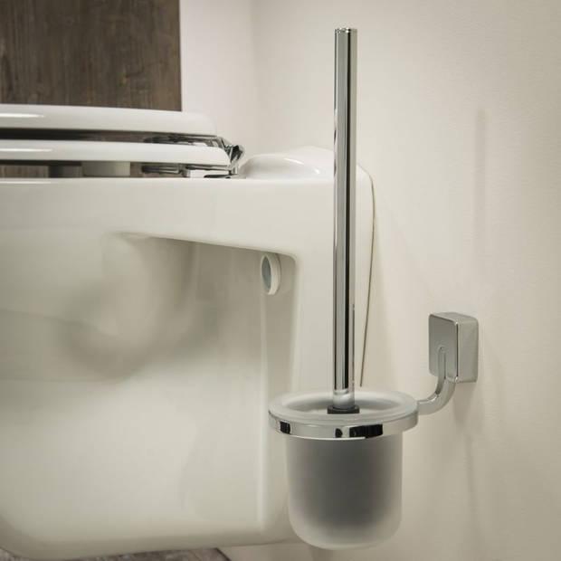 Tiger Toiletborstel en houder Impuls 11x15,3 cm chroom 387530346