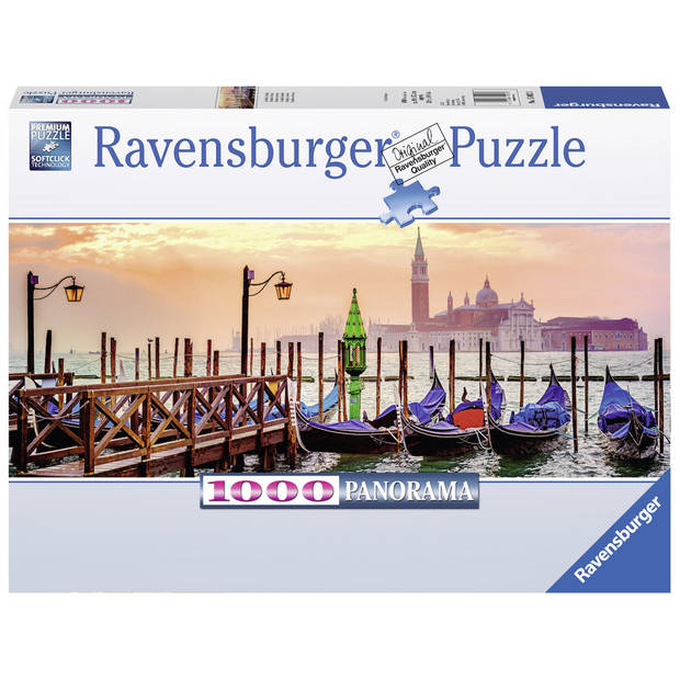 Ravensburger puzzel Panorama gondels in Venetië 1000 stukjes