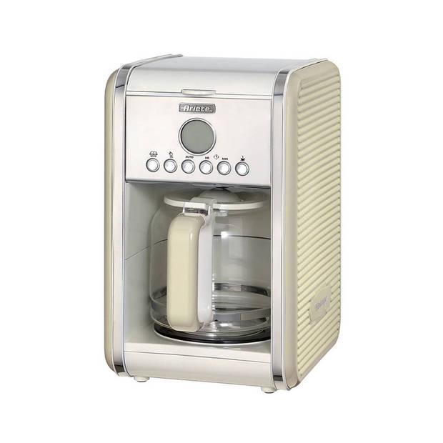 Ariete filterkoffiezetapparaat Vintage Retro - beige
