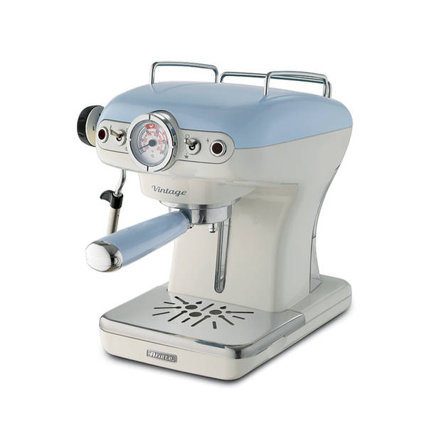Ariete Espressomachine Vintage Sky Blue