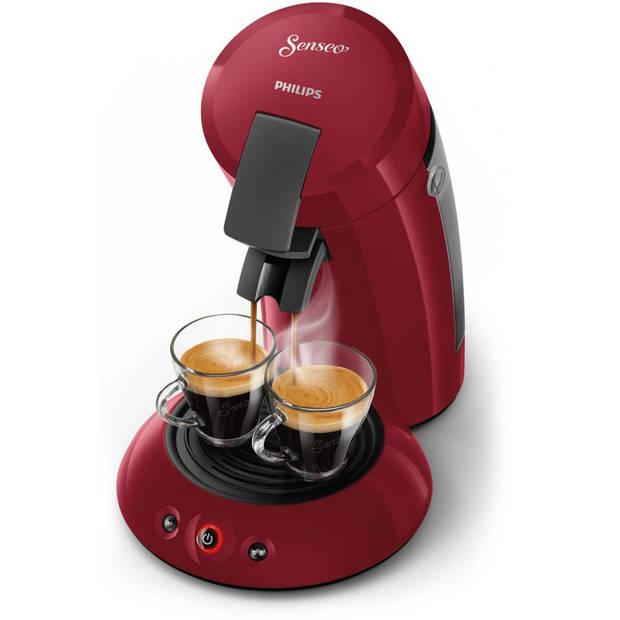Philips SENSEO® Original koffiepadmachine HD6553/80 - rood